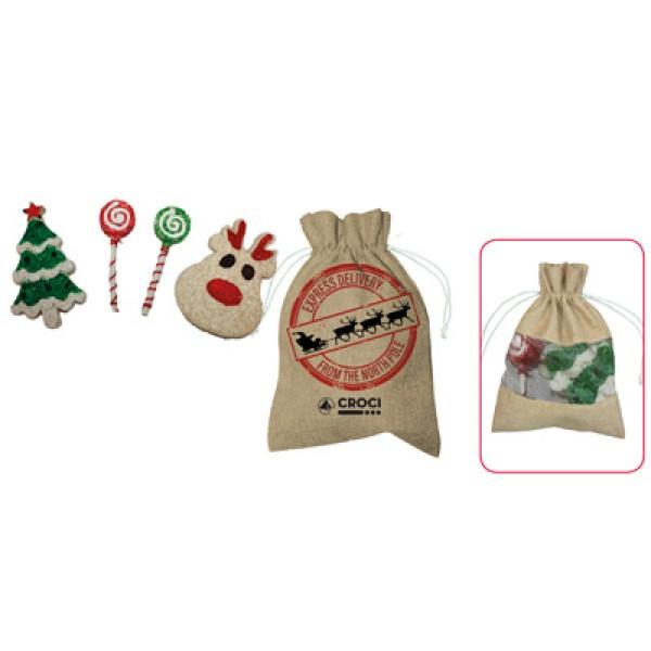 Xmas Dog Snack Bag Χριστούγεννα