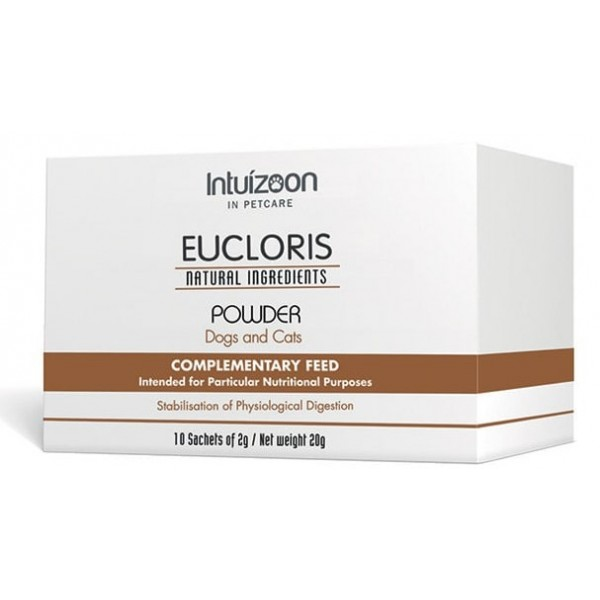 Eucloris για τη σταθεροποίηση της φυσιολογίας πέψης  - 20gr Πεπτικές Διαταραχές