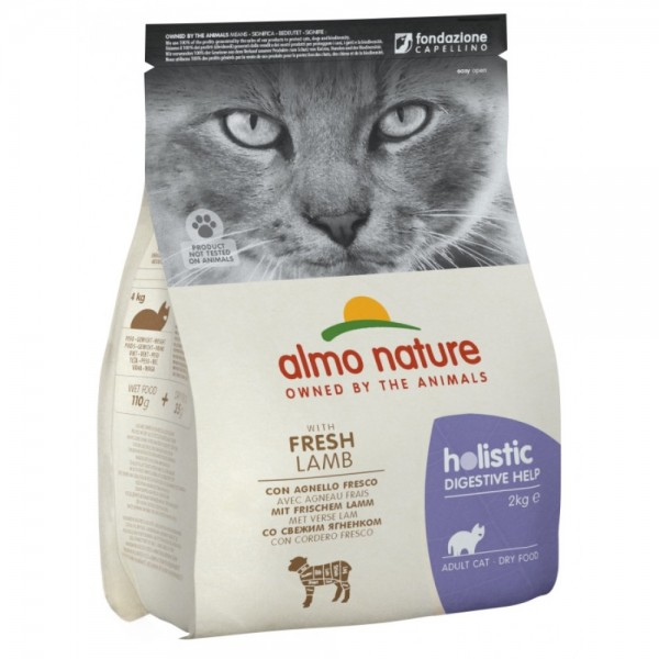 Almo Nature Holistic Digestive Help με Αρνί 2kg Ολιστικές Τροφές