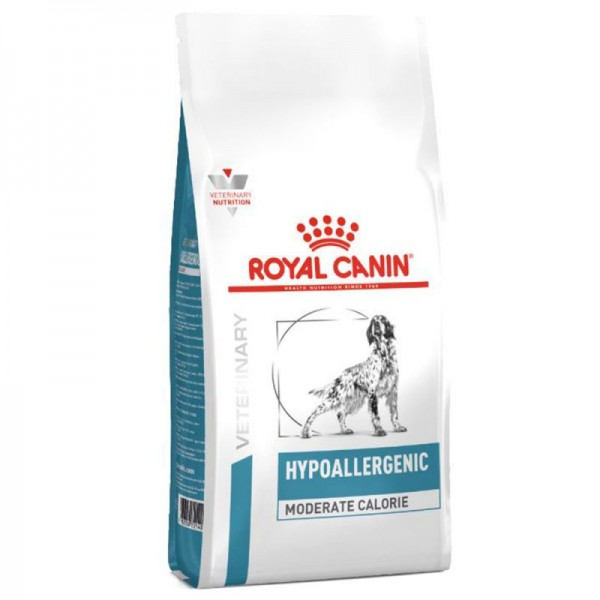 Royal Canin Veterinary Diet - Canine Hypoallergenic Moderate Calorie 14kg Κλινικές Τροφές - Δίαιτες