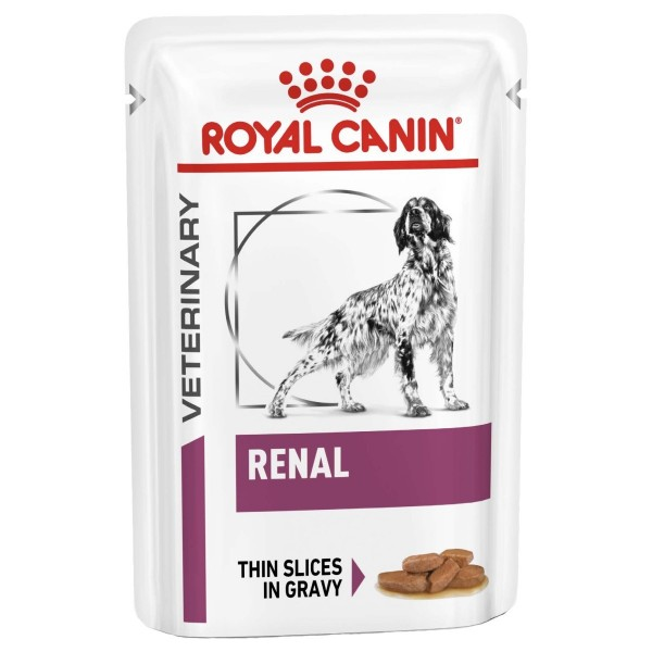 Royal Canin Veterinary Diet - Canine Renal Pouch 100gr Κλινικές Τροφές - Δίαιτες