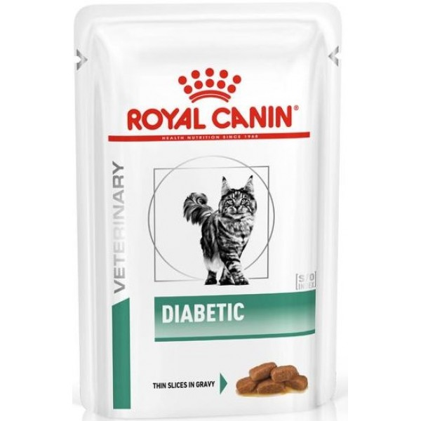 Royal Canin Veterinary Diet - Feline Diabetic 100gr Τροφές