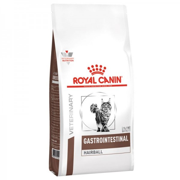 Royal Canin Veterinary Diet - Feline Gastro Intestinal Hairball 2kg Κλινικές Τροφές - Δίαιτες