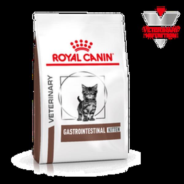 Royal Canin Veterinary Diet -  Feline Gastro Intestinal Kitten 2kg Κλινικές Τροφές - Δίαιτες