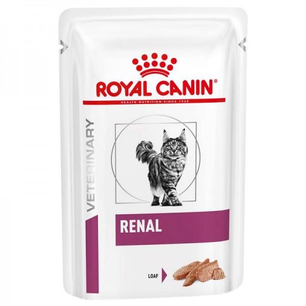 Royal Canin Veterinary Diet - Feline Renal Mousse 85gr Κλινικές Τροφές - Δίαιτες