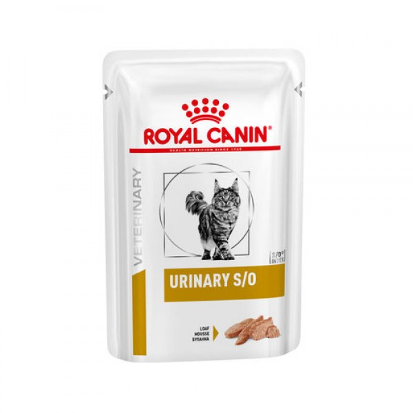 Royal Canin Veterinary Diet - Urinary S/O πατέ 85gr Κλινικές Τροφές - Δίαιτες