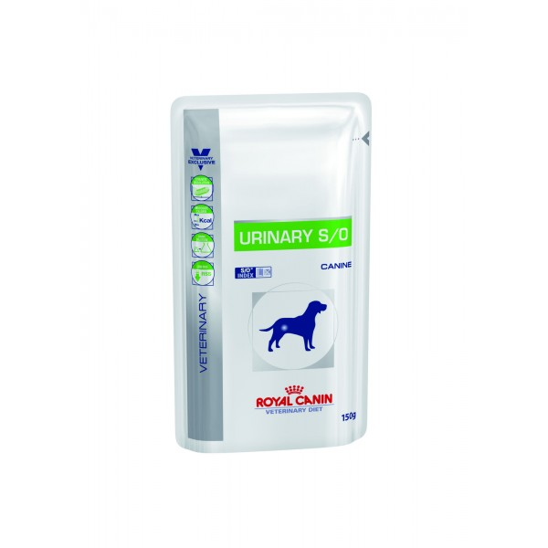 Royal Canin Veterinary Diet - Urinary S/O Pouch 150gr