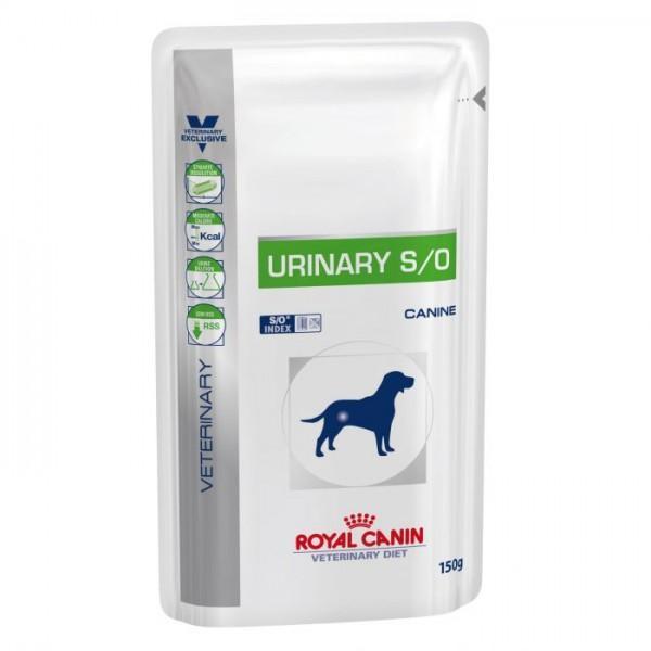 Royal Canin Veterinary Diet - Urinary S/O Pouch 150gr Κλινικές Τροφές - Δίαιτες
