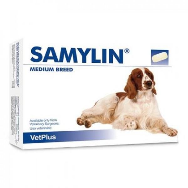 Samylin Medium Breed - 30 δισκία