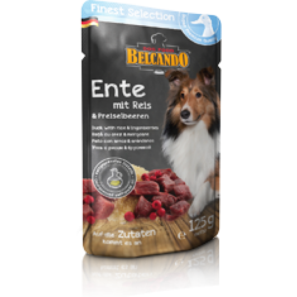 Belcando Finest Selection φακελάκι σκύλου με πάπια 125gr Ολιστικές Τροφές