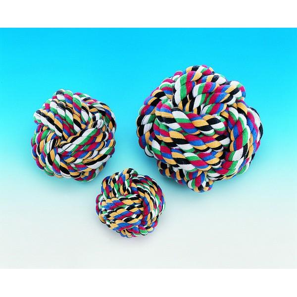 Πολύχρωμη Μπάλα - Οδοντικό Rope, Large Κόμποι - Σχοινιά