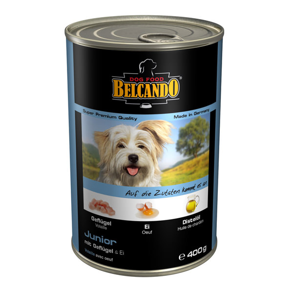 Belcando Junior (400gr Κονσέρβα) Ολιστικές Τροφές