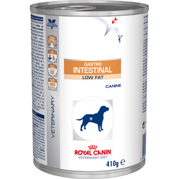 Royal Canin Veterinary Diet - Gastro Intestinal Low Fat Wet (410gr Υγρή τροφή) Τροφές