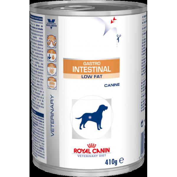 Royal Canin Veterinary Diet - Gastro Intestinal Low Fat Wet (410gr Υγρή τροφή) Τροφές