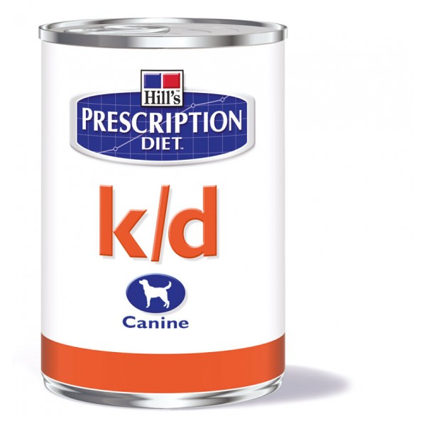 HILL'S Prescription Diet k/d Canine (370gr Κονσέρβα) Τροφές