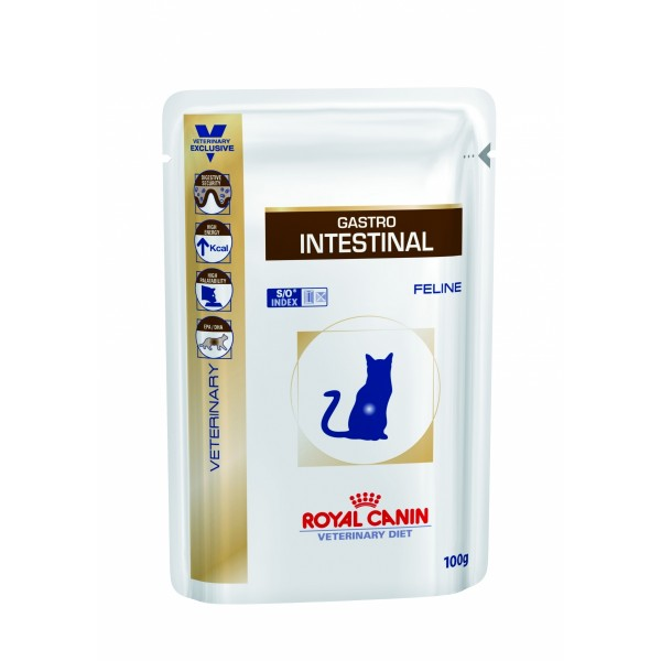 Royal Canin Veterinary Diet - Gastro - Intestinal Feline Wet (100gr Υγρή τροφή) Τροφές
