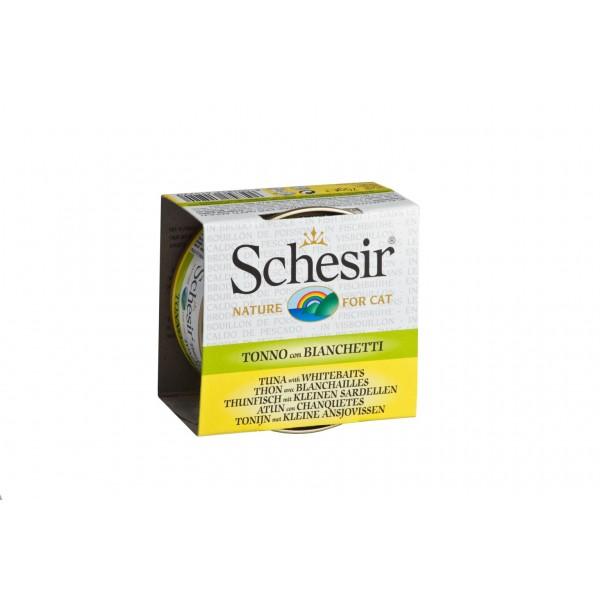 Schesir Cat Broth με Τόνο και Αθερίνα σε Άλμη (70gr κονσέρβα) Τροφές
