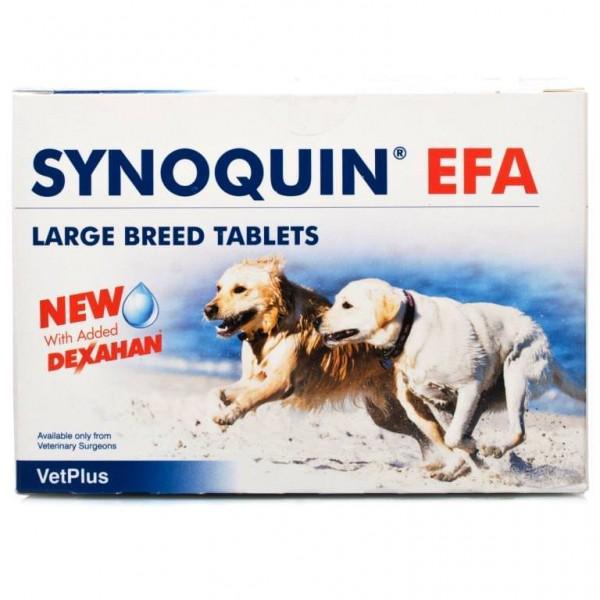 Synoquin Tasty Διατροφικό Συμπλήρωμα για Μεγάλα Ζώα (30 δισκ) Παραφαρμακευτικά Προϊόντα