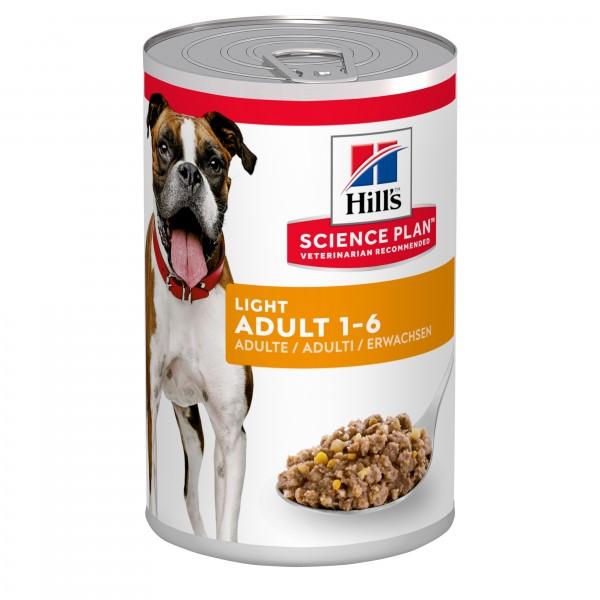 Hill's Science Plan Canine Adult Light 370gr Super Premium Τροφές