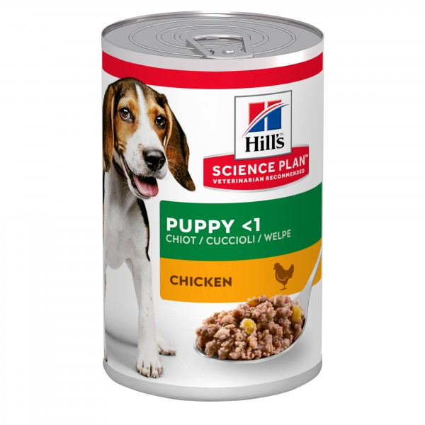 Hill's Science Plan Puppy Healthy Development για Κουτάβια με Κοτόπουλο 370gr Super Premium Τροφές