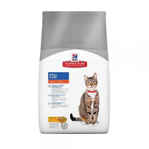 Hill's SP Feline Adult Oral Care με Κοτόπουλο 1.5kg  Super Premium Τροφές