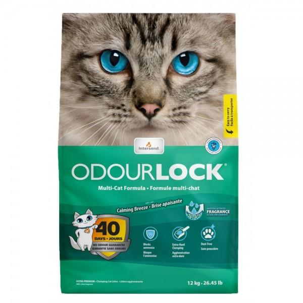 Odourlock Calming Breeze 6kg Συγκολλητικές - Clumping