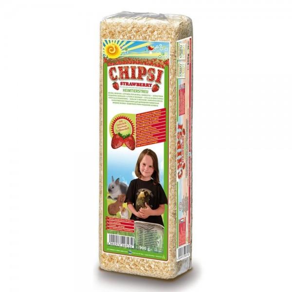 CHIPSI STRAWBERRY - Πριονίδι με φρέσκο άρωμα φράουλας 1kg Πριονίδι - Υπόστρωμα